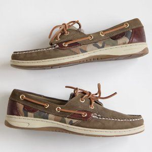 Sperry Top-Sider Camouflage Boat Shoes Deck Shoes